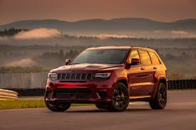 jeep hawk track 2018 jeep grand cherokee trackhawk first drive focus daily news