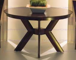 saloom new england maple dining table with standard pedestal