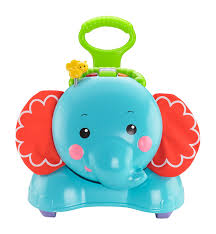 amazon com fisher price 3 in 1 bounce stride and ride elephant
