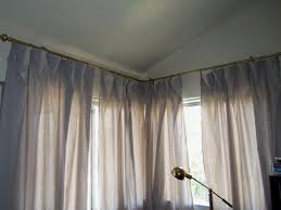 Corner Curtain Bracket Coffee Tables Curtain Rods That Go Around Corners Corner Window