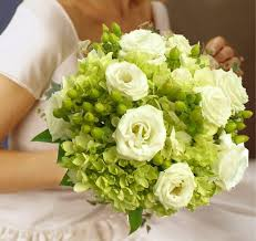 wedding flowers halifax hydrangea hypericum and lisianthus bouquet 190 00 send