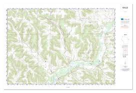 Michigan Topographic Maps by Custom Topo Maps Custom Aerial Photos