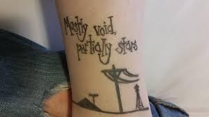 mostly void partially tattoo by diekritzelei on deviantart