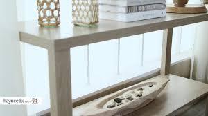Sofa Desk Table by Finley Home Hudson Sofa Table Hayneedle