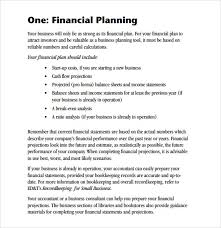Goals And Objectives Template Excel 8 Financial Plan Templates Excel Excel Templates