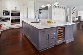 kitchen island with refrigerator amazing transitional kitchen kitchen island sink features integrated