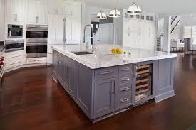 kitchen island with refrigerator amazing transitional kitchen kitchen island sink features