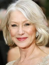 platinum hairstyles for older women love helen mirren s beautiful silver and platinum hair