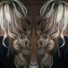 chocolate hair with platinum highlight pictures blonde highlights with chocolate brown lowlights by suzette hair