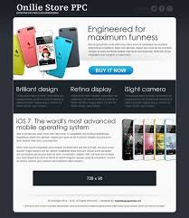 pay per click landing page design templates example for conversion