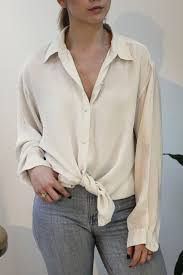 ivory silk blouse hey jude vintage ivory silk blouse garmentory