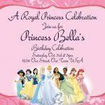best disney princess birthday invitations templates invitations
