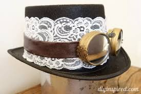 Diy Steampunk Home Decor Diy Steampunk Top Hat And Goggles Diy Inspired