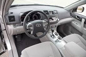 Toyota Highlander Interior Dimensions 2012 Toyota Highlander Our Review Cars Com