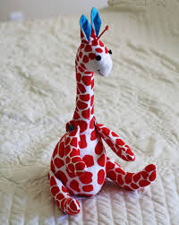 running with scissors giraffe softie