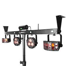 stage lighting mounting bars chauvet dj gig bar irc 4 in 1 complete effect light system youtube