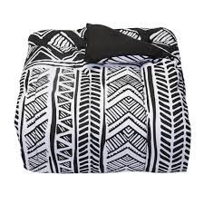 White Twin Xl Comforter Leilani Black College Classic Twin Xl Comforter Dorm Bedding And