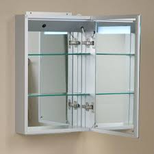 Lighted Bathroom Wall Mirror by Brilliant Aluminum Medicine Cabinet With Lighted Mirror Bathroom