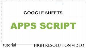 Google Spreadsheet App App Script Editor Tutorial Google Sheets Excel Vba Equivalent
