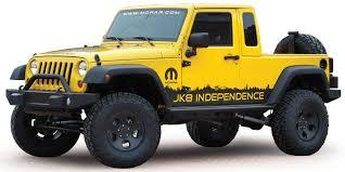 is the jeep pickup truck mopar jk 8 pickup conversion kit for 07 12 jeep wrangler
