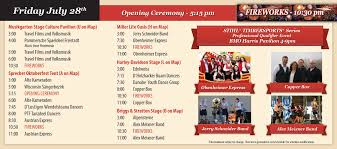 entertainment brochure u2013 2017 german fest