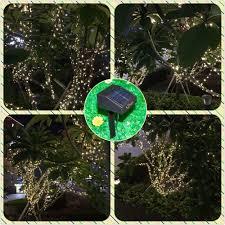 solar power led lights 100 bulb string amazon com inst solar powered led string light ambiance lighting