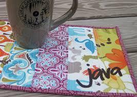 Quilted Mug Rug Pattern Mug Rug Pattern