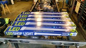 hardwired led shop lights costco led shop lights pirate4x4 com 4x4 and off road forum