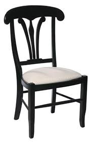 french provence dining room chair