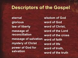03 what does the word gospel