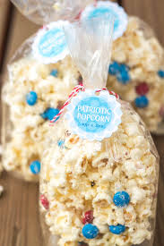 popcorn favors 4th of july favors patriotic popcorn gift favor ideas from