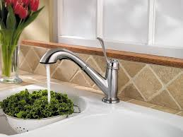 Price Pfister Kitchen Faucets Parts 100 Images 538 Series by Pfister Lf5385lcs Bixby 1 Handle Pull Out Kitchen Faucet