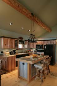 Best  Hickory Kitchen Cabinets Ideas On Pinterest Hickory - Cabin kitchen cabinets
