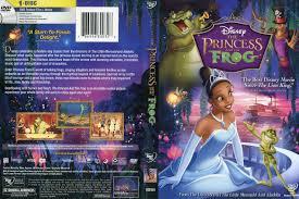 princess frog 2009 r1 cartoon dvd cd label dvd