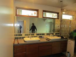 bathroom how to installthroom mirror with adhesive frame wall 92