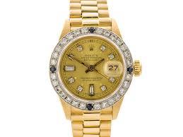 golden rolex rolex 18ct yellow gold datejust watch prestige online store