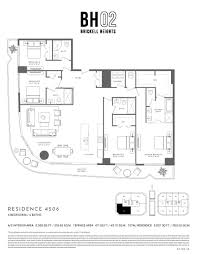 55 Harbour Square Floor Plans Brickell Heights West Bh02 Miami Real Estate Trends