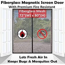 Insect Screen For French Doors - amazon com bug off 72 by 80 instant screen fits some french