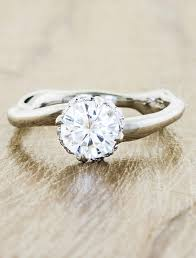 nature inspired engagement rings nature inspired engagement rings ken design