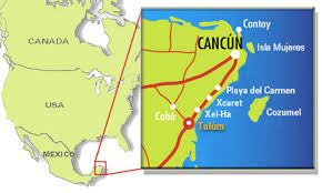 tulum map cancun hotels and resorts cancun lodging guide