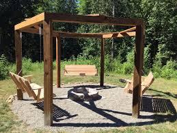 Backyard Smokers Plans Mesmerizing Swing Fire Pit Plans 43 In Designer Design Inspiration