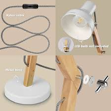 278 Best Scandinavian Brightness Images On Pinterest Bathroom Tomons Wood Adjustable Head Desk Lamp Designer Table Lamp