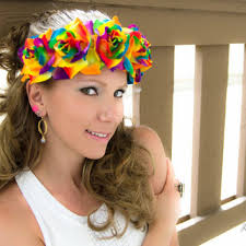 flower hairband best coachella flower headbands products on wanelo