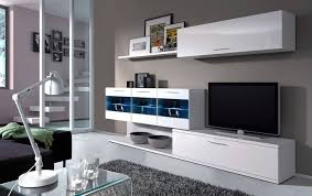 Gloss White Living Room Furniture White The Most Details About Alessia Led Lights Tv Unit