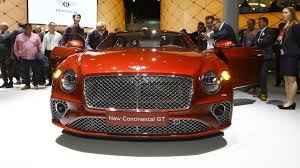 bentley red 2018 bentley continental gt dazzles crowd with new design at frankfurt