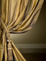 Discounted Curtains El Dorado Designer Silk Taffeta Stripe Curtains U0026 Drapes Ebay