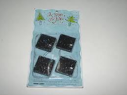 a tree for me miniature ornaments black glitter