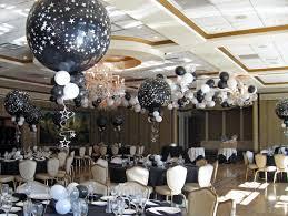 black u0026 white star balloons b u0026w star balloon centerpieces with