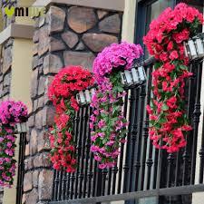 popular balcony artificial leaves buy cheap balcony artificial