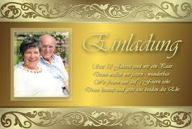 einladungskarten goldene hochzeit mit foto goldene hochzeit einladungen sajawatpuja